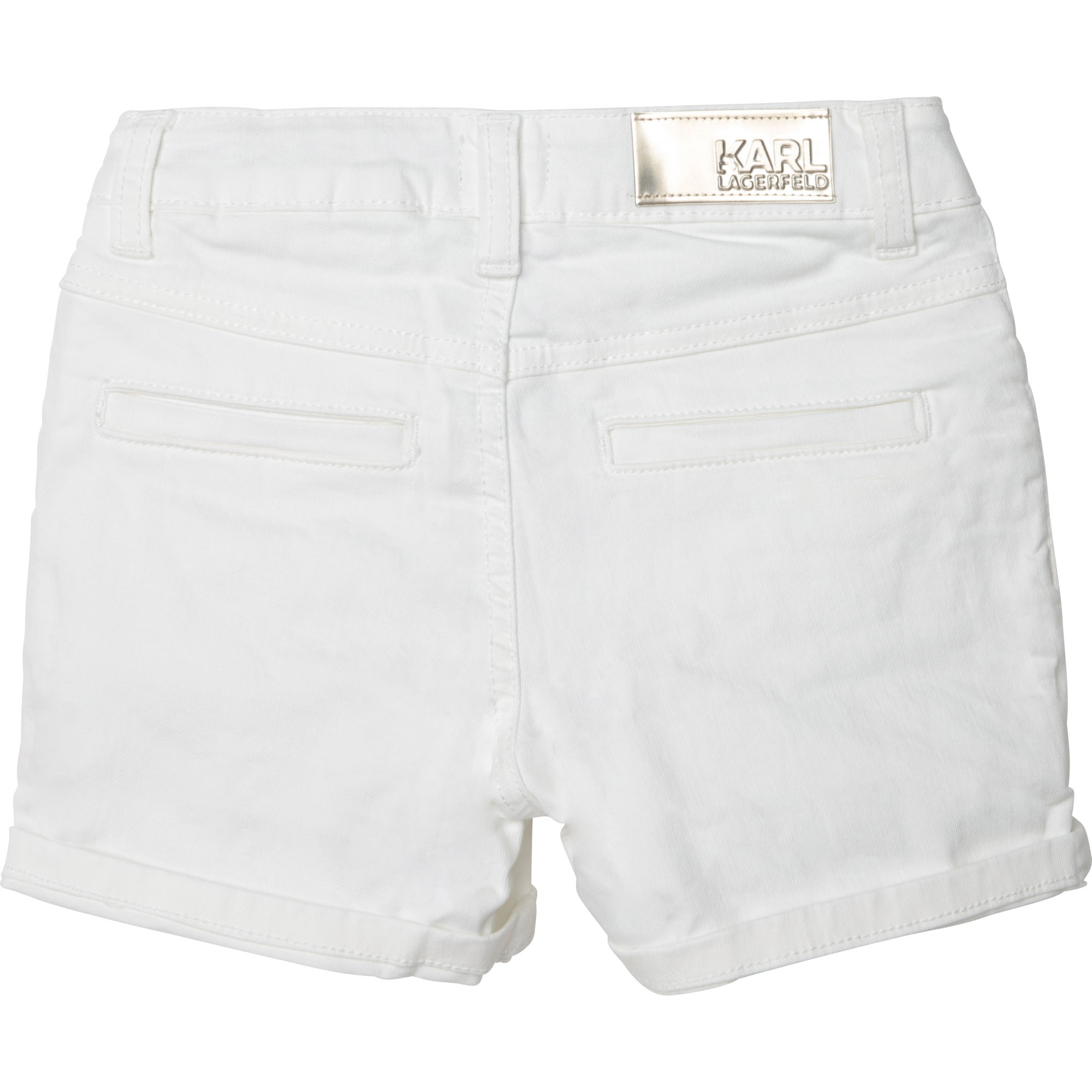 Shorts in cotone KARL LAGERFELD KIDS Per BAMBINA