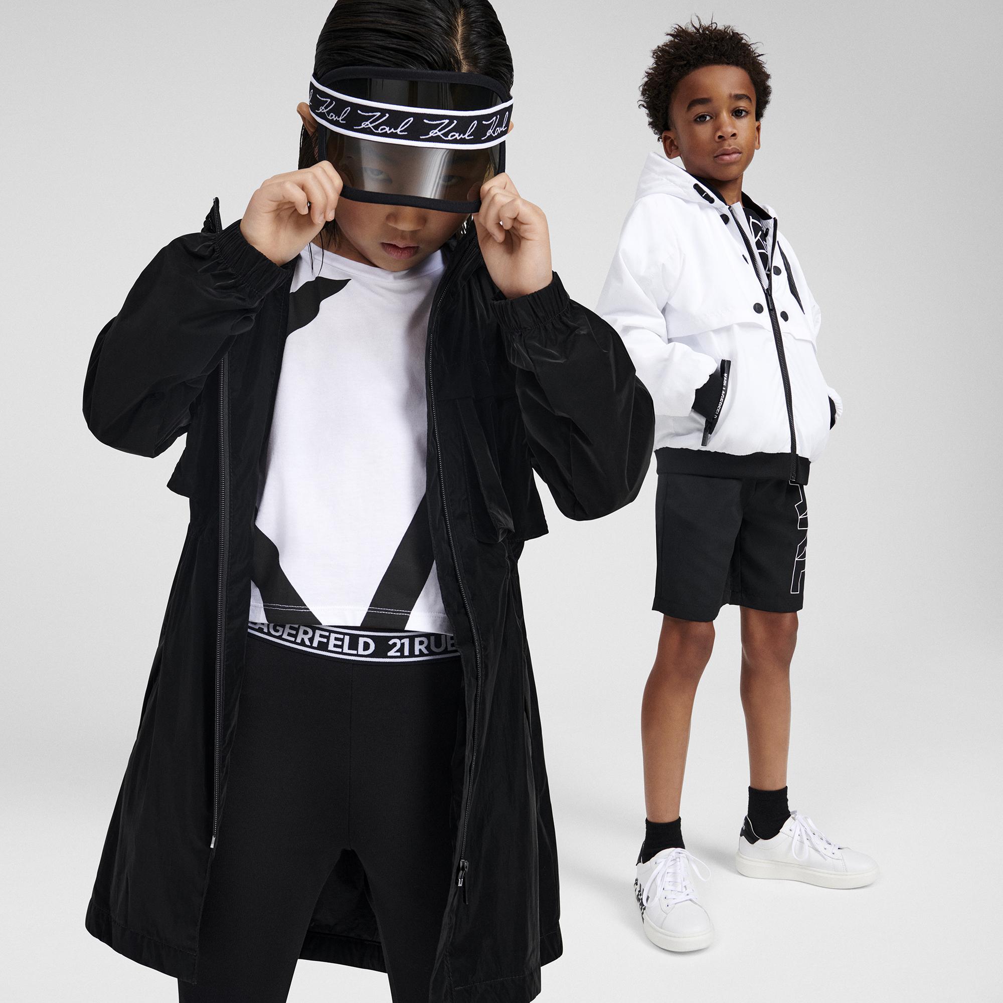 Jersey leggings KARL LAGERFELD KIDS for GIRL