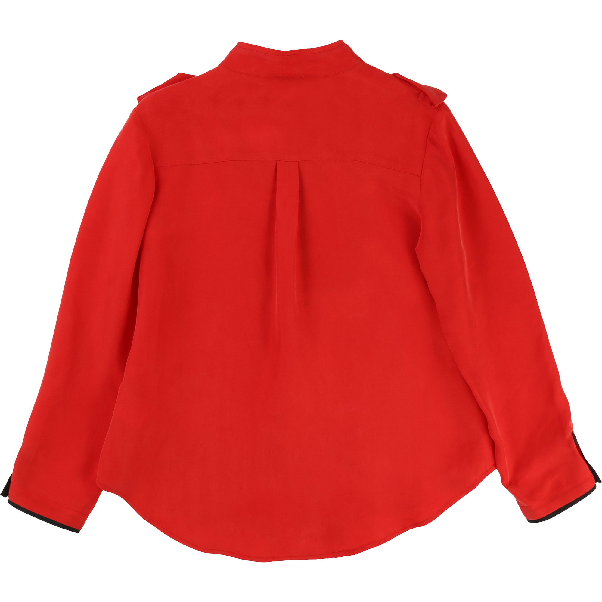 Blouse rouge militaire KARL LAGERFELD KIDS pour FILLE