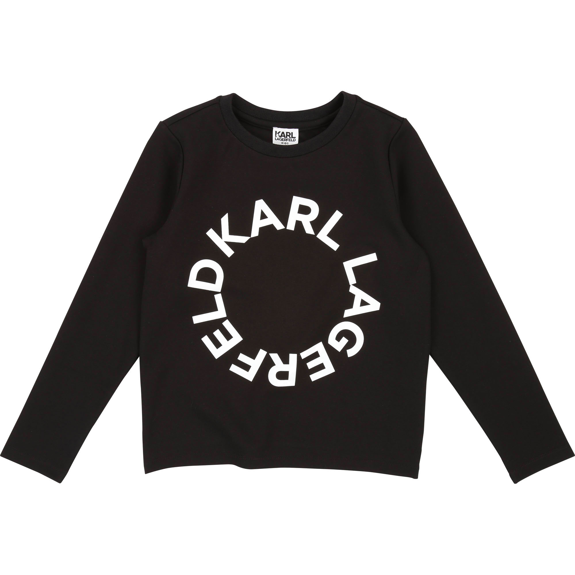 Printed sweatshirt KARL LAGERFELD KIDS for GIRL