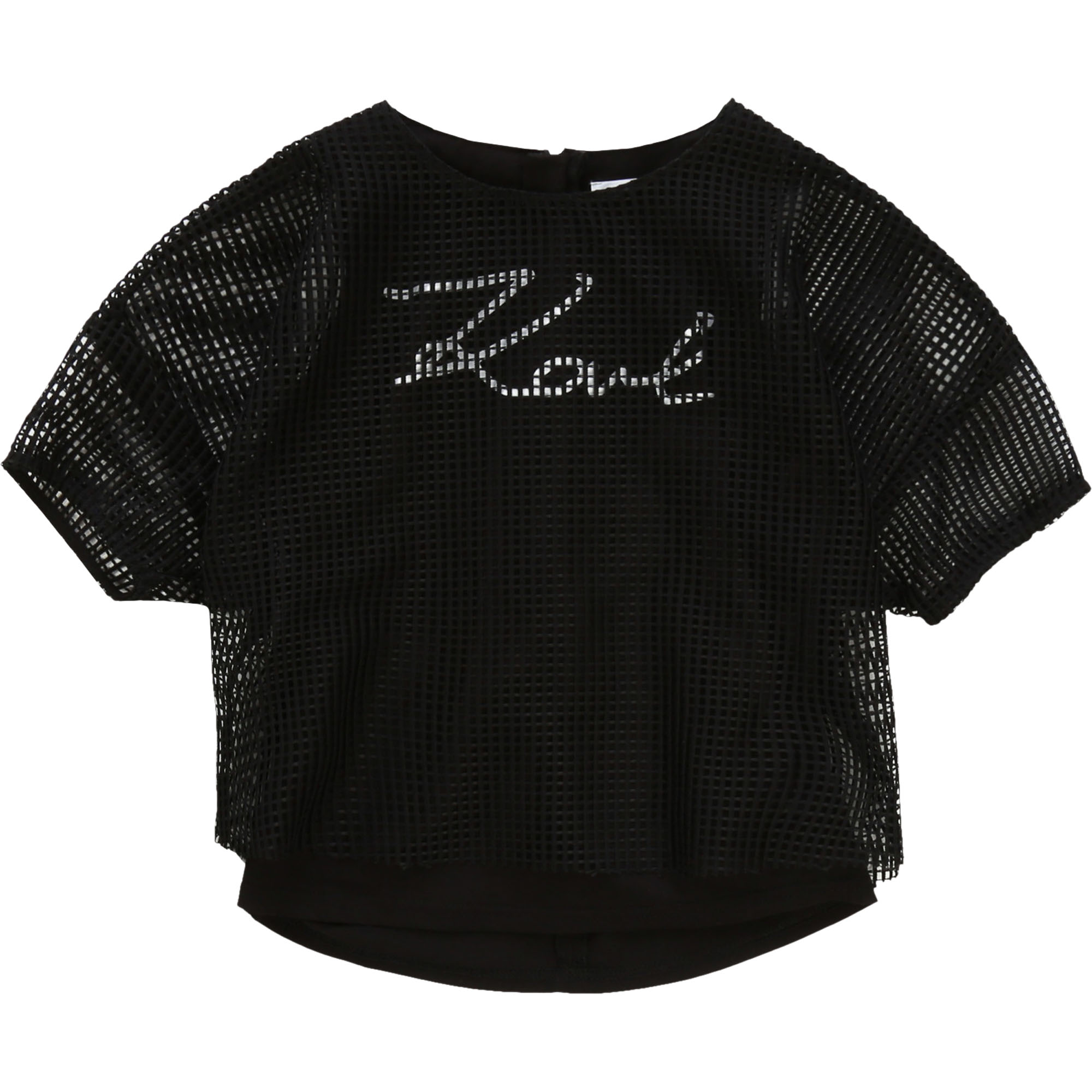 T-shirt 2 in 1 con stampa KARL LAGERFELD KIDS Per BAMBINA