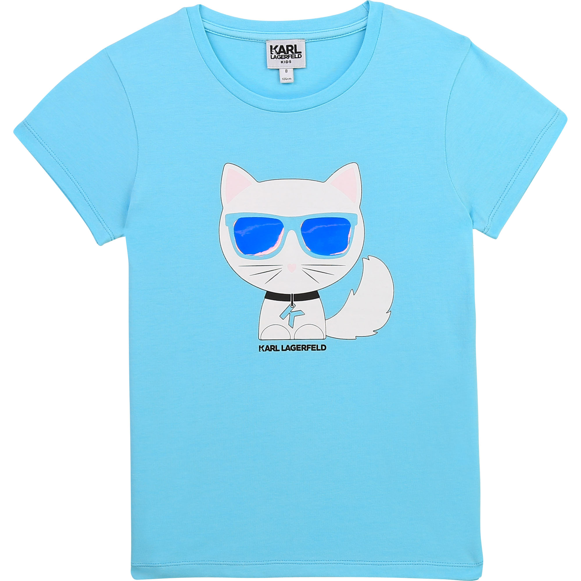 Novelty Choupette T-shirt KARL LAGERFELD KIDS for GIRL