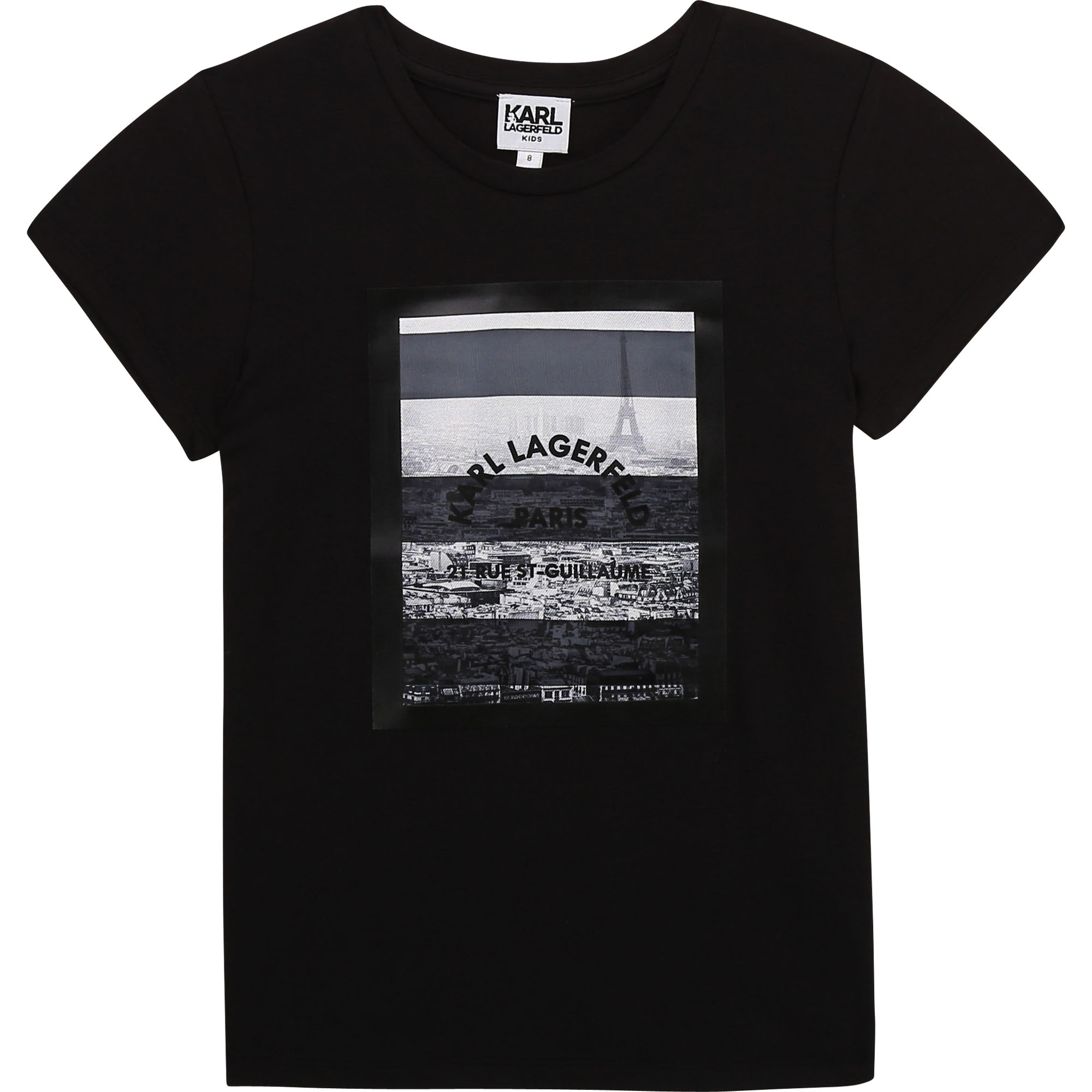 Short-sleeved T-shirt KARL LAGERFELD KIDS for GIRL