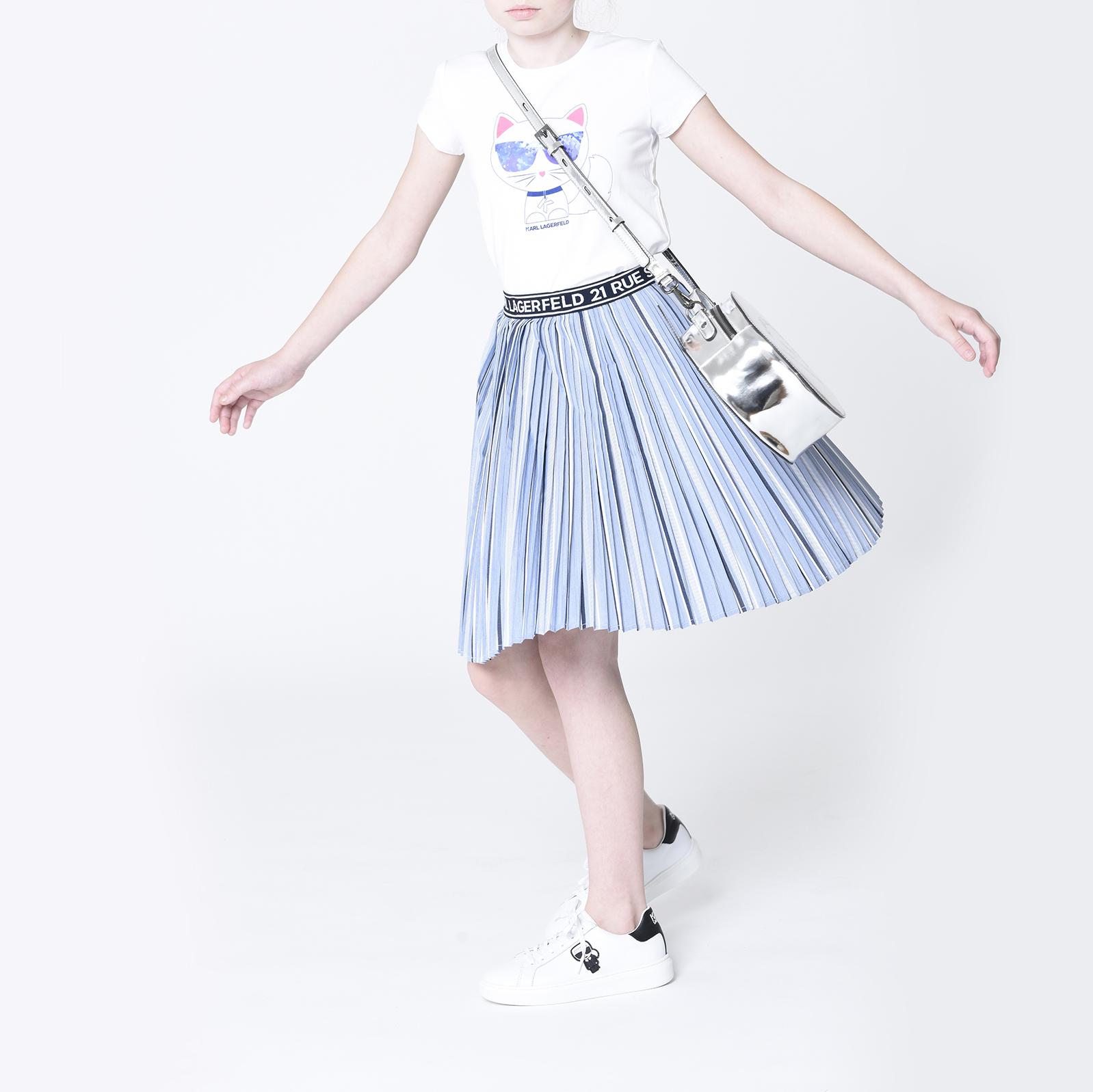 Novelty Choupette T-shirt KARL LAGERFELD KIDS for GIRL