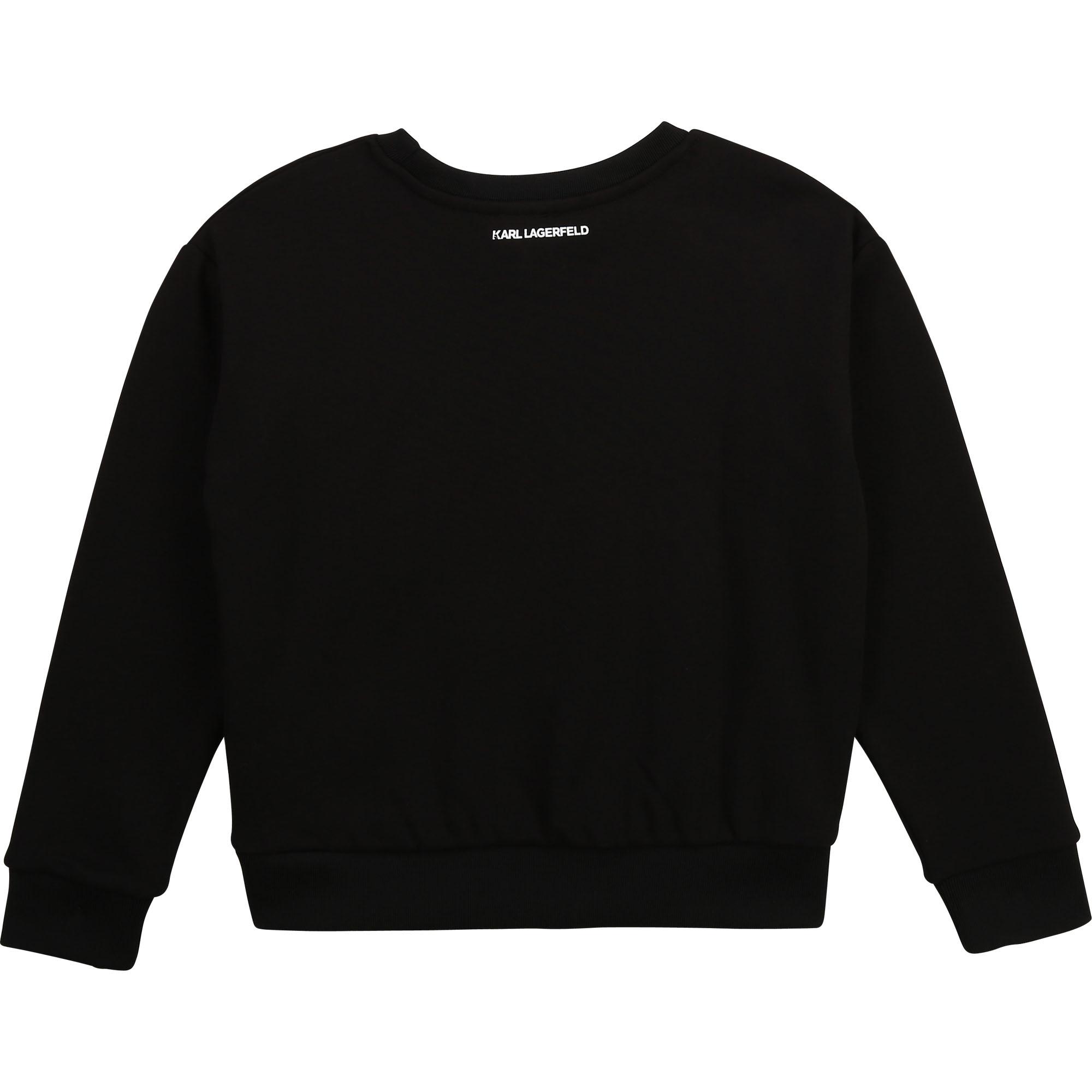 Novelty Choupette sweatshirt KARL LAGERFELD KIDS for GIRL