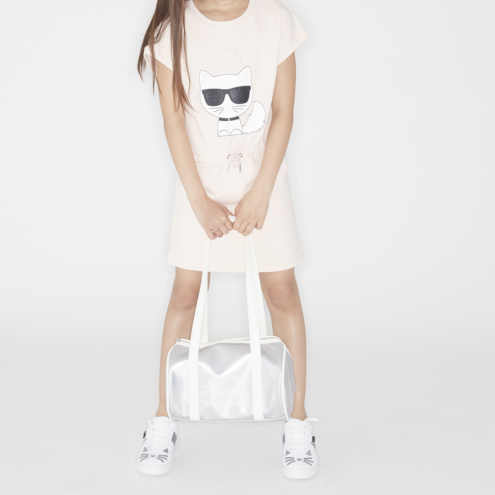 BASKETS KARL LAGERFELD KIDS pour FILLE