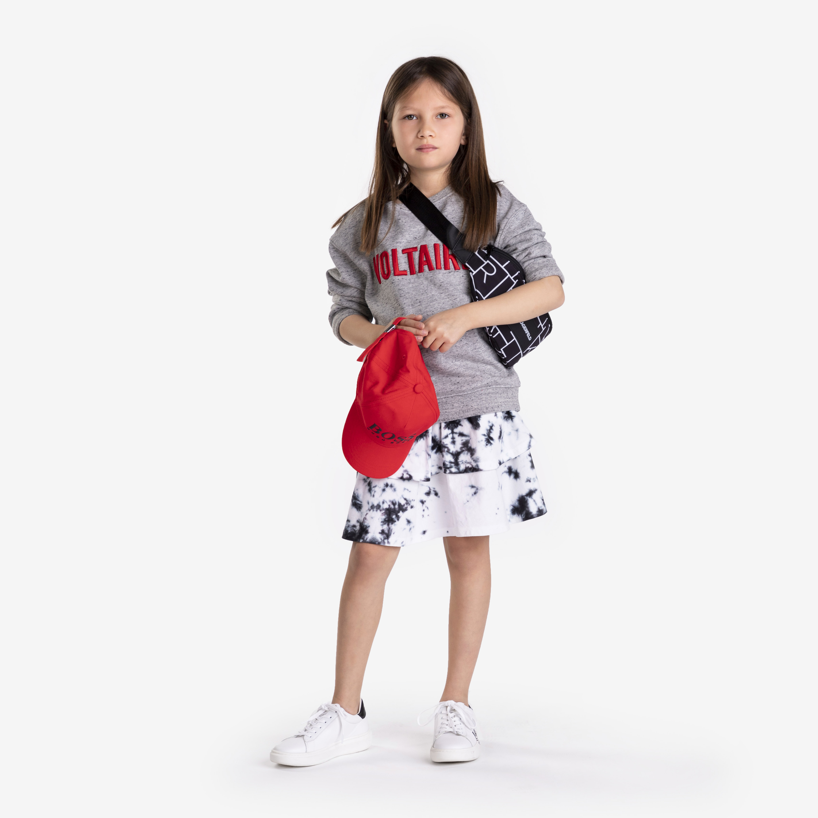 Printed belt bag KARL LAGERFELD KIDS for BOY
