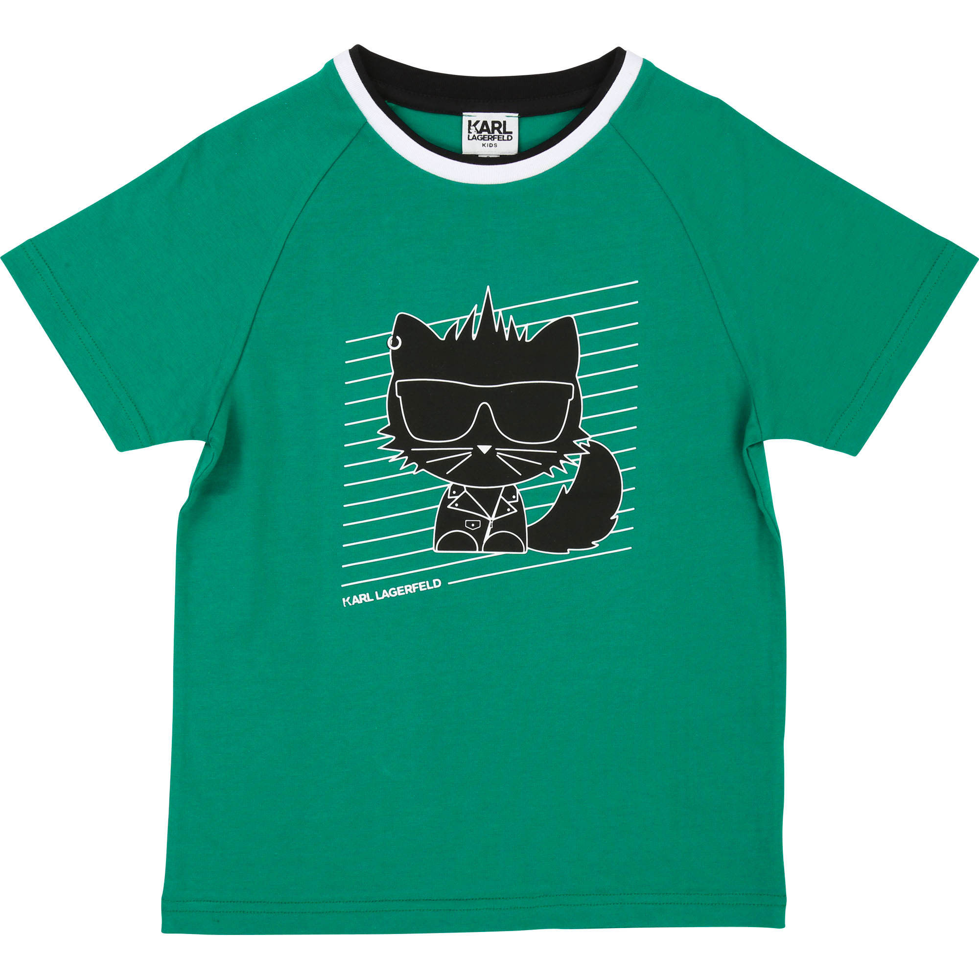 Cotton jersey T-shirt KARL LAGERFELD KIDS for BOY