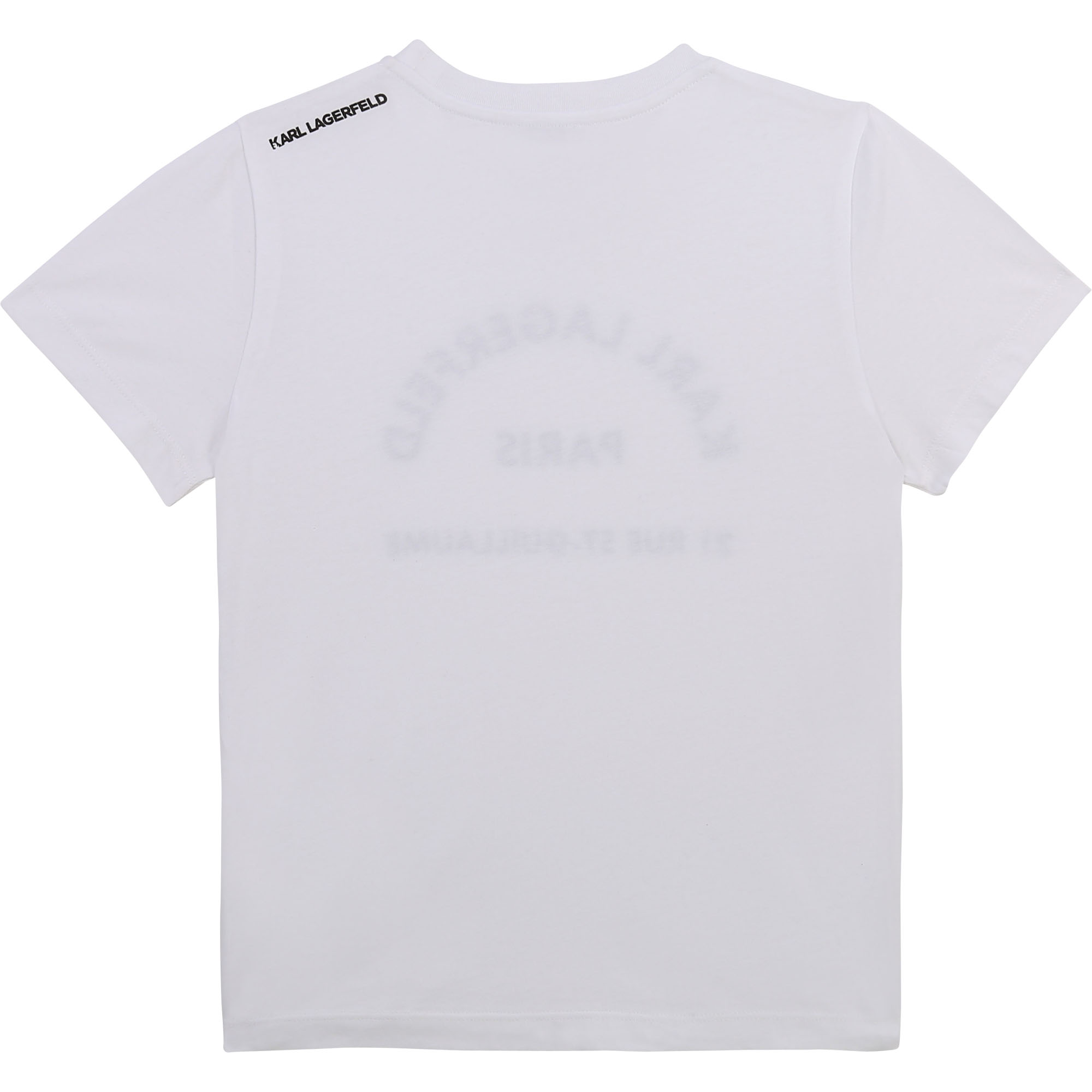 T-shirt à manches courtes KARL LAGERFELD KIDS pour GARCON