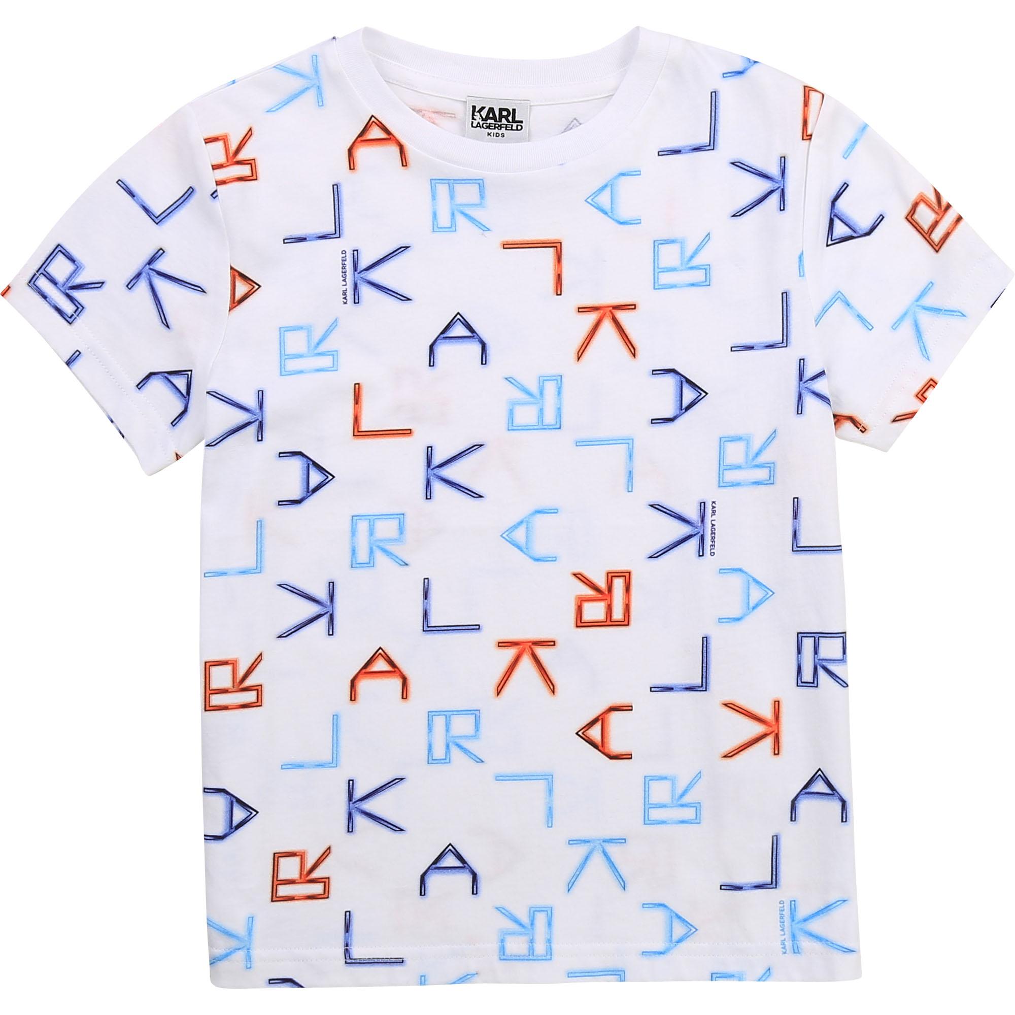 Short-sleeved T-shirt KARL LAGERFELD KIDS for BOY