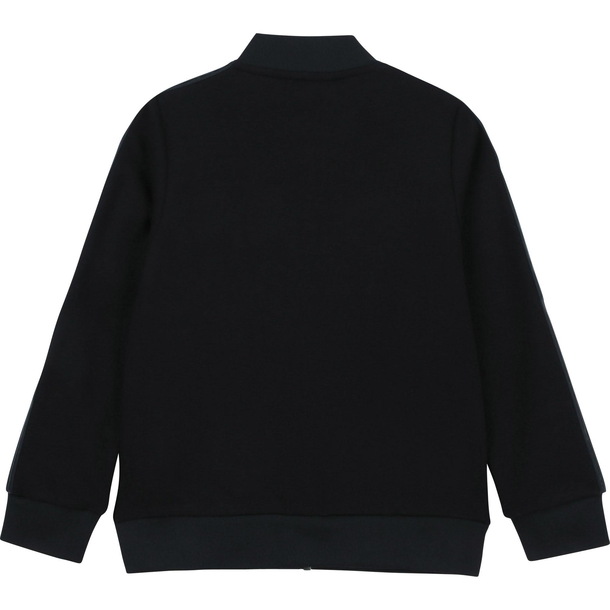 Zip-up cotton cardigan KARL LAGERFELD KIDS for BOY