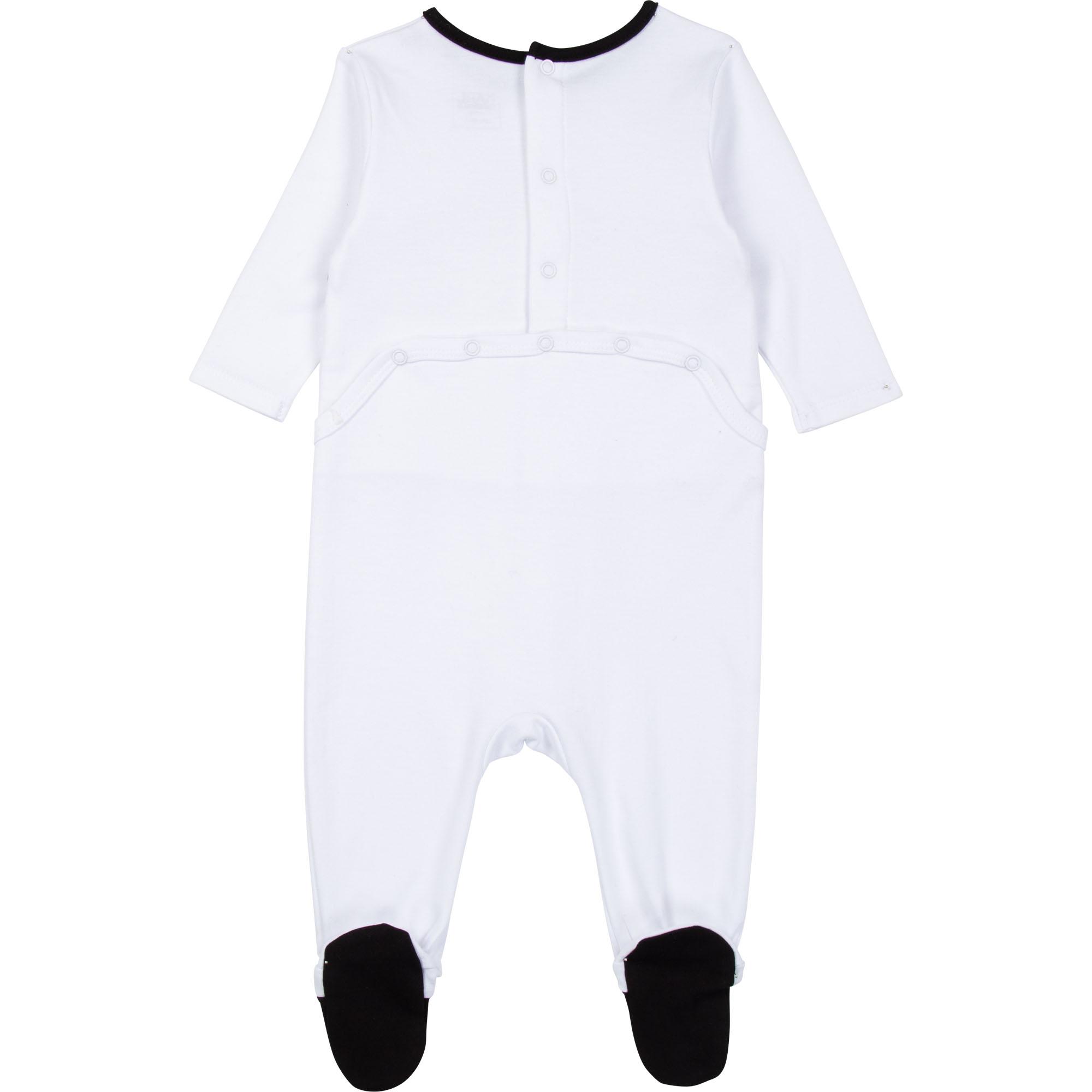 Pajama + bib set KARL LAGERFELD KIDS for GIRL