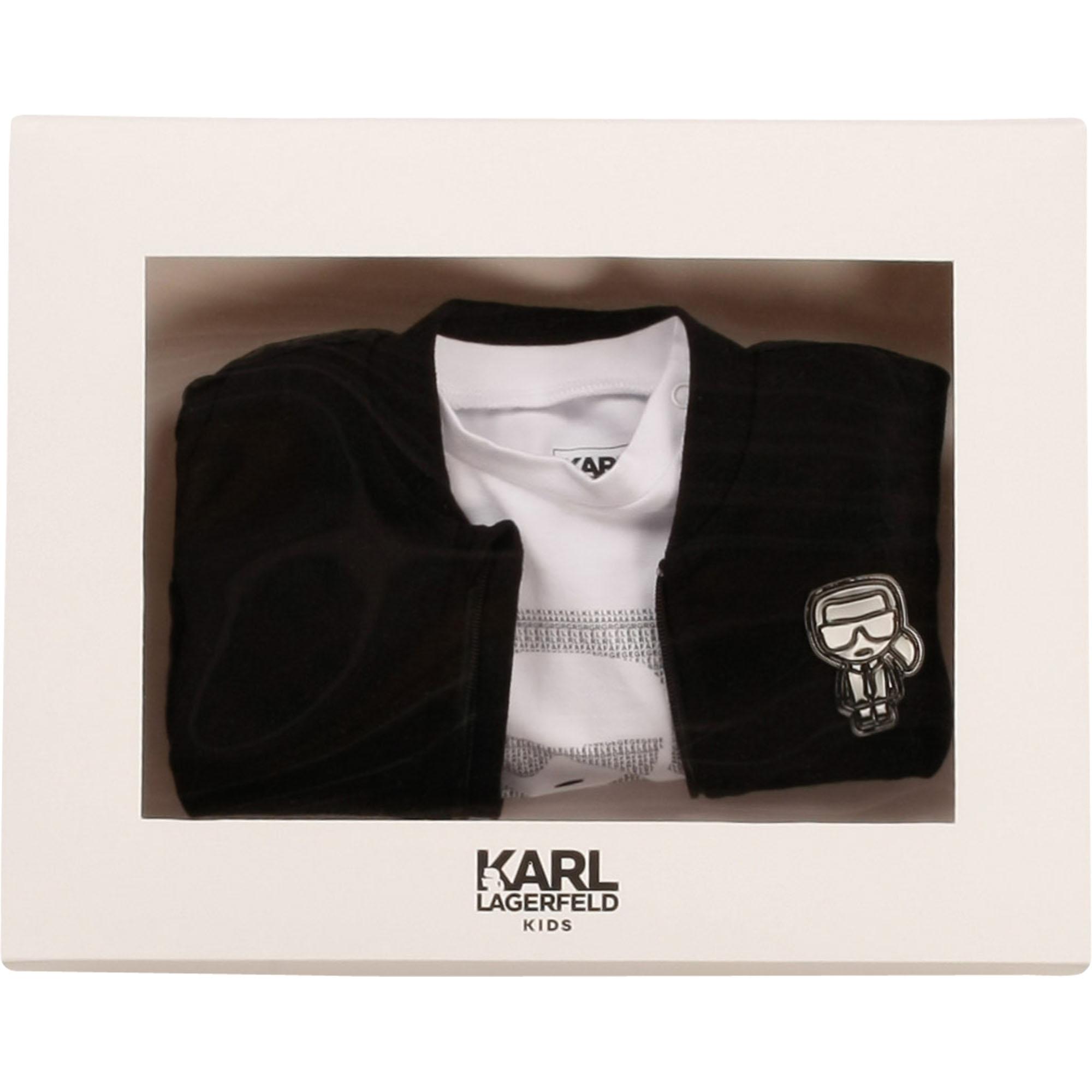 3-piece tracksuit set KARL LAGERFELD KIDS for BOY