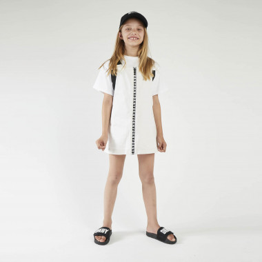 Robe salopette drill DKNY pour FILLE