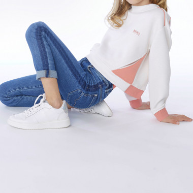Jean skinny taille haute BOSS pour FILLE