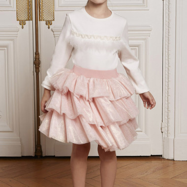 TEE-SHIRT MANCHES LONGUES CHARABIA pour FILLE