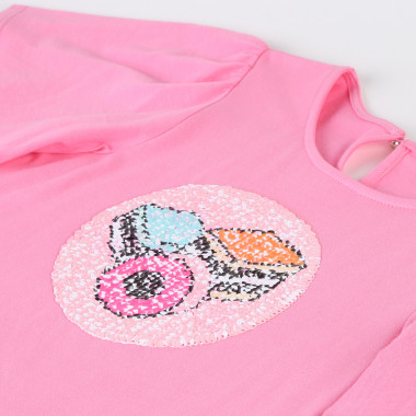 T-shirt de cérémonie à sequins THE MARC JACOBS pour FILLE