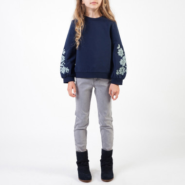 PANTALON DENIM CARREMENT BEAU pour FILLE