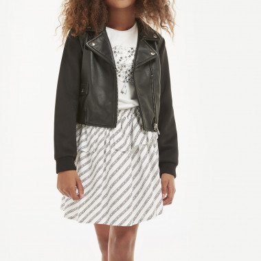 Jupe viscose KARL LAGERFELD KIDS pour FILLE