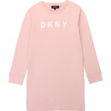 Robe en coton stretch DKNY pour FILLE