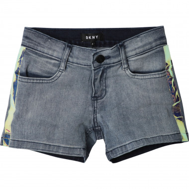Short en denim DKNY pour FILLE