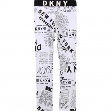 Legging imprimé all-over DKNY pour FILLE