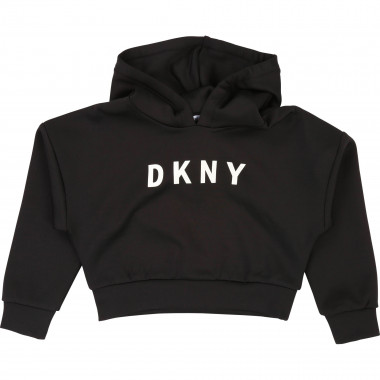 Sweat-shirt court DKNY pour FILLE