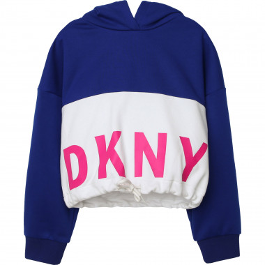 Sweat à capuche en molleton DKNY pour FILLE