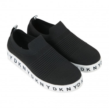 Chaussures chaussettes unies DKNY pour FILLE