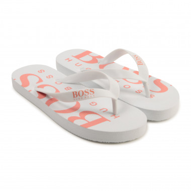 Tongs bicolores BOSS pour FILLE
