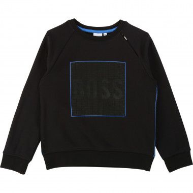 Sweat-shirt en molleton BOSS pour GARCON