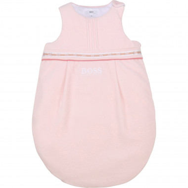 Turbulette velours de coton BOSS pour FILLE