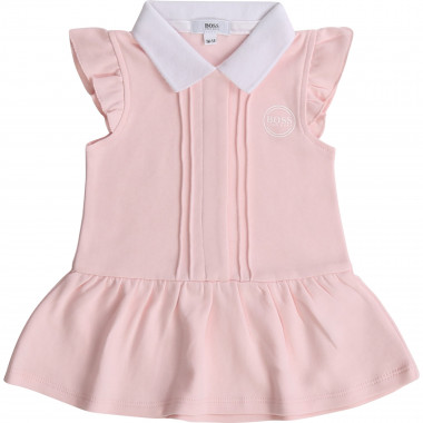 Robe taille basse 100% coton BOSS pour FILLE