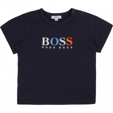 TEE-SHIRT MANCHES COURTES BOSS pour GARCON