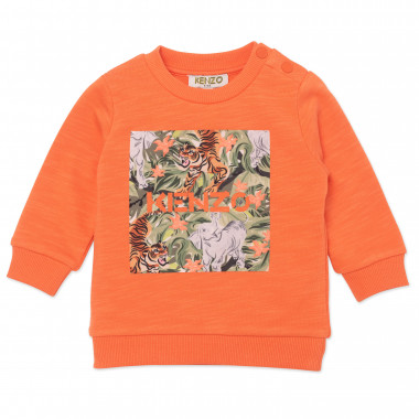 Sweat à sérigraphie jungle KENZO KIDS pour GARCON