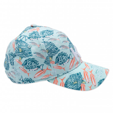 Casquette à imprimé marin KENZO KIDS pour FILLE