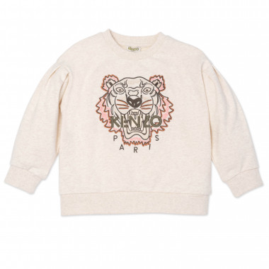 Pull à motif tigre KENZO KIDS pour FILLE