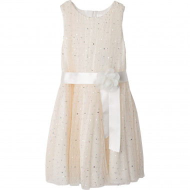 Robe chasuble en tulle CHARABIA pour FILLE