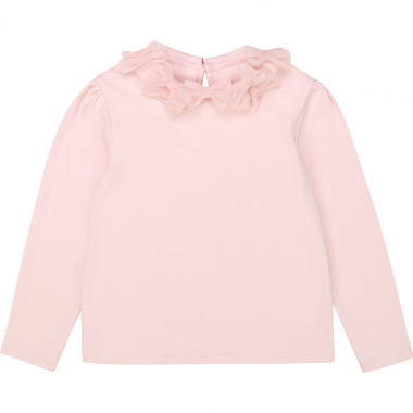 T-shirt coton col Claudine CHARABIA pour FILLE