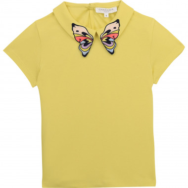 T-shirt en coton interlock CHARABIA pour FILLE