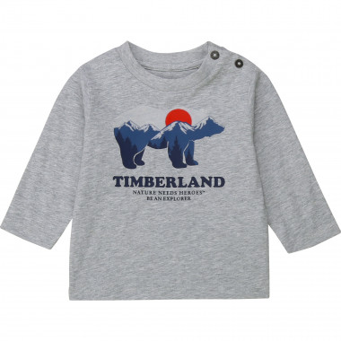 T-shirt jersey manches longues TIMBERLAND pour GARCON
