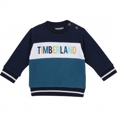 Pull tricot 100 % coton TIMBERLAND pour GARCON