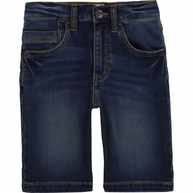 Bermuda chino en jean maille TIMBERLAND pour GARCON