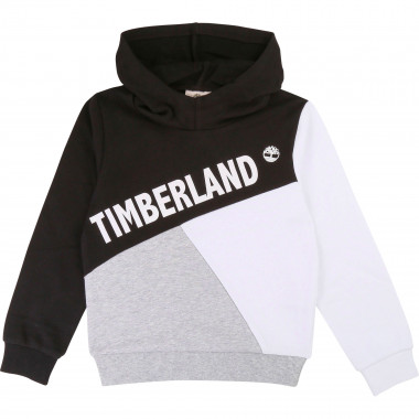 Sweat à capuche color block TIMBERLAND pour GARCON