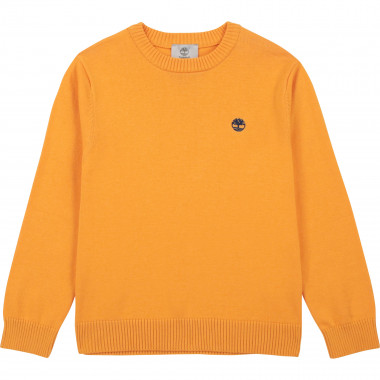 Pull maille 100 % coton TIMBERLAND pour GARCON