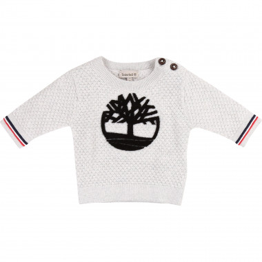 Pull en tricot fantaisie TIMBERLAND pour GARCON