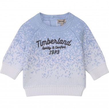 Pull en tricot 100% coton TIMBERLAND pour GARCON