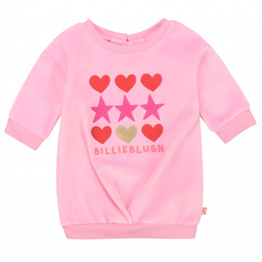 Robe en molleton velours BILLIEBLUSH pour FILLE