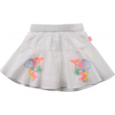 Jupe short en percale BILLIEBLUSH pour FILLE