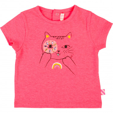T-shirt en jersey chat BILLIEBLUSH pour FILLE